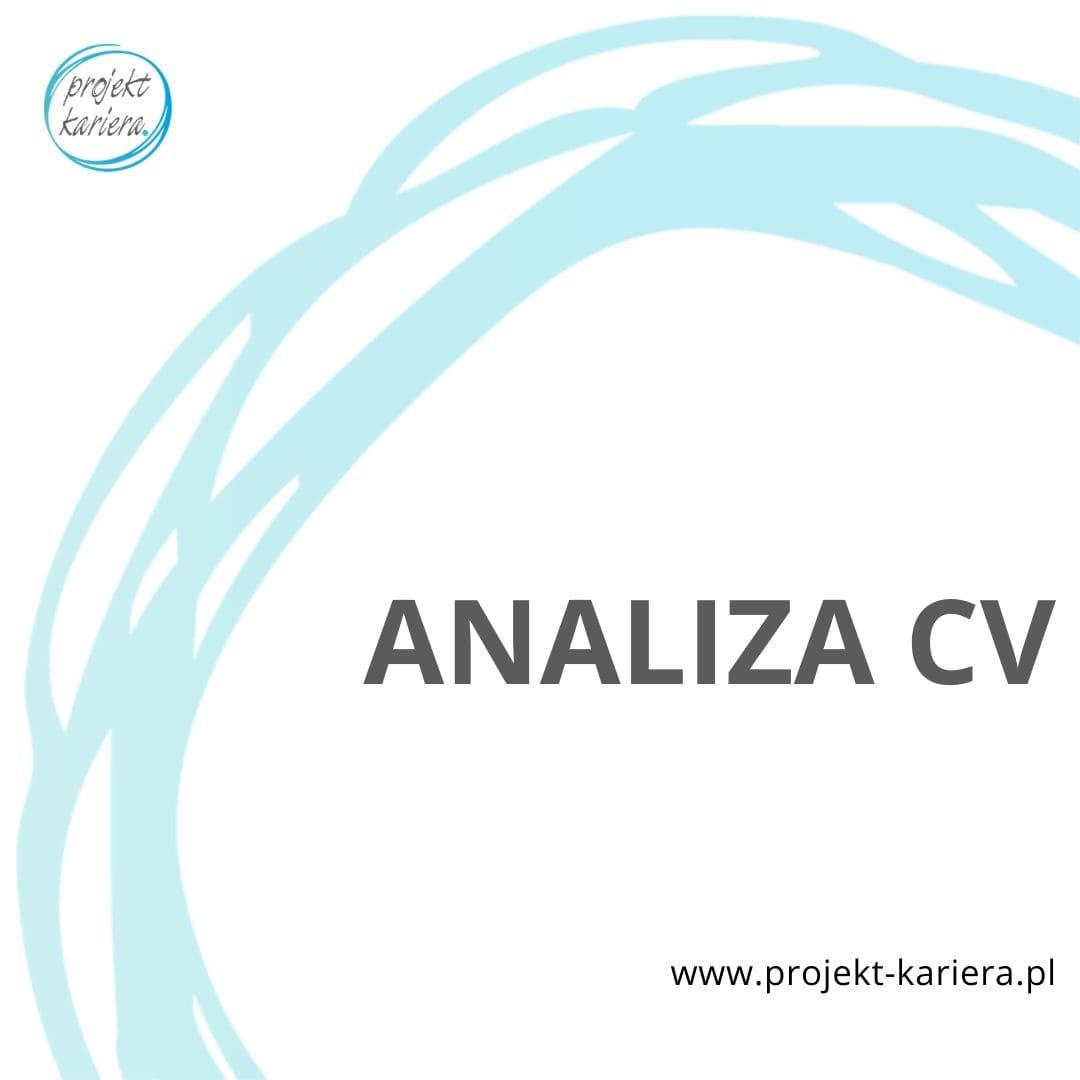 analiza CV